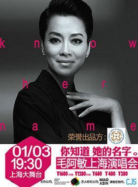 你知道她的名字•毛阿敏上海演唱会