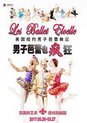 """美国纽约男子芭蕾舞团""""男子芭蕾也疯狂"""""""