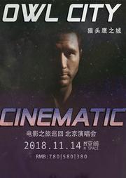 "2018""Owl City Cinematic Tour""(猫头鹰之城电影之旅)北京演唱会"